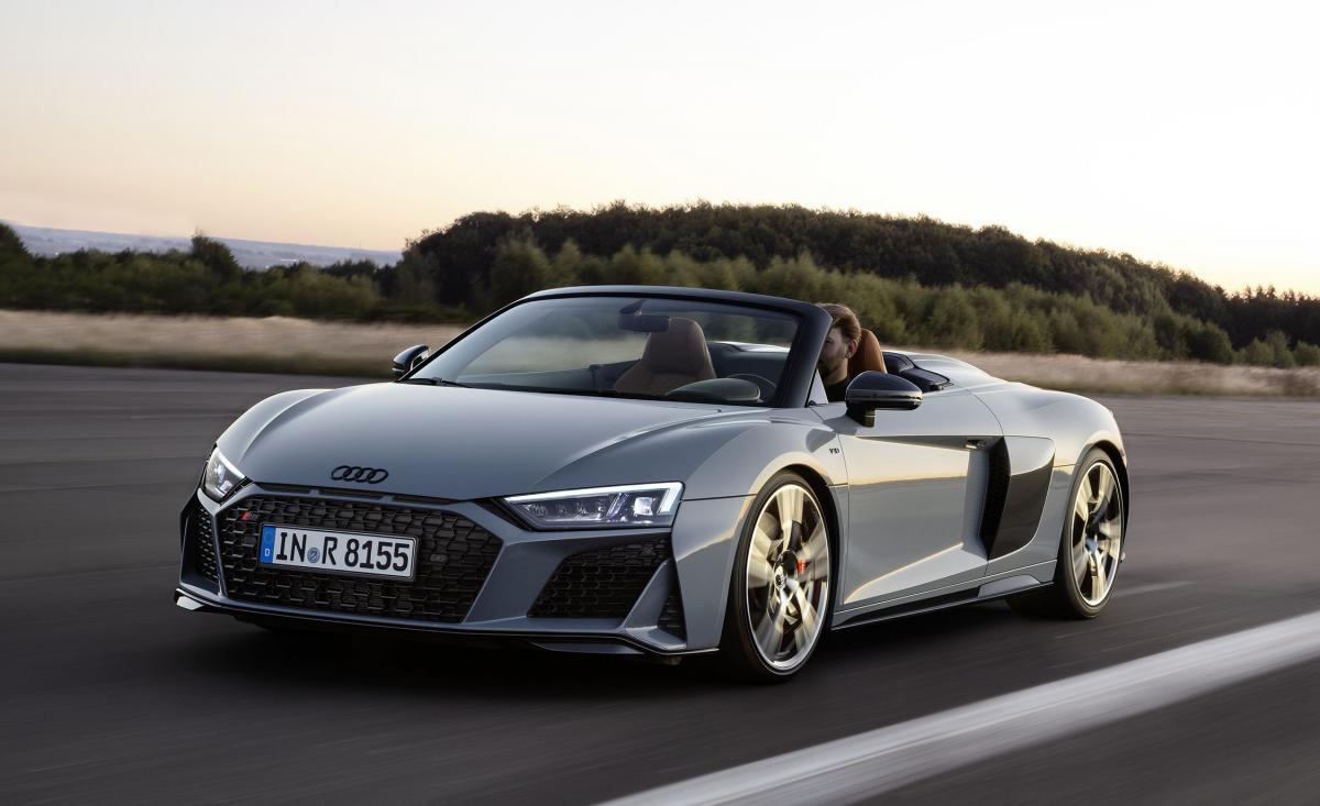 2019 Audi R8 revealed with updated looks and more power