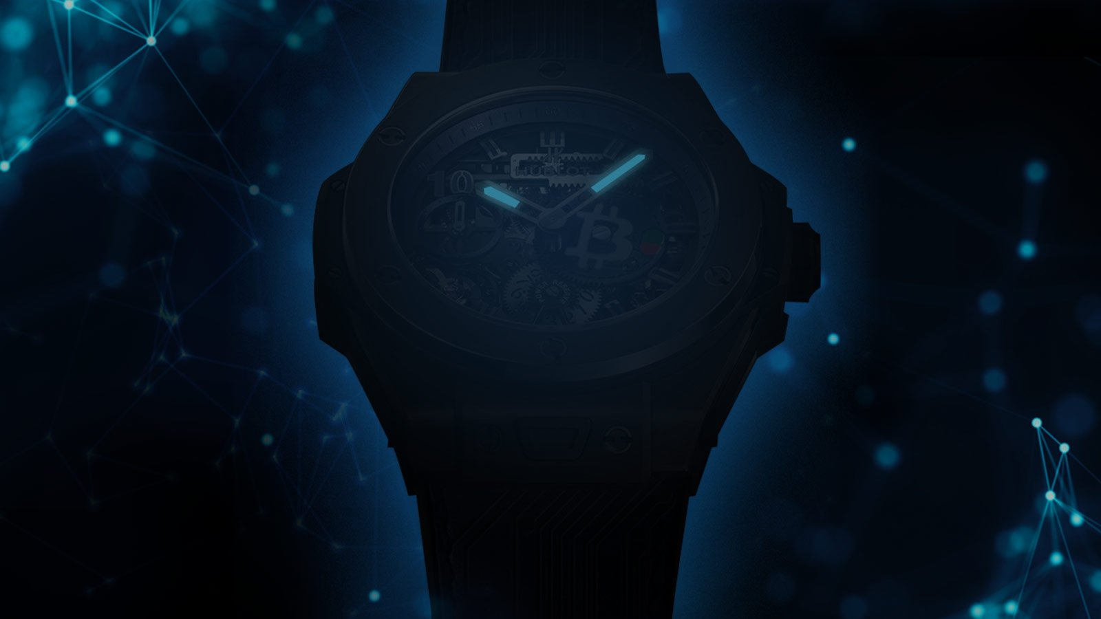This new limited edition Hublot watch can only be purchased with Bitcoins