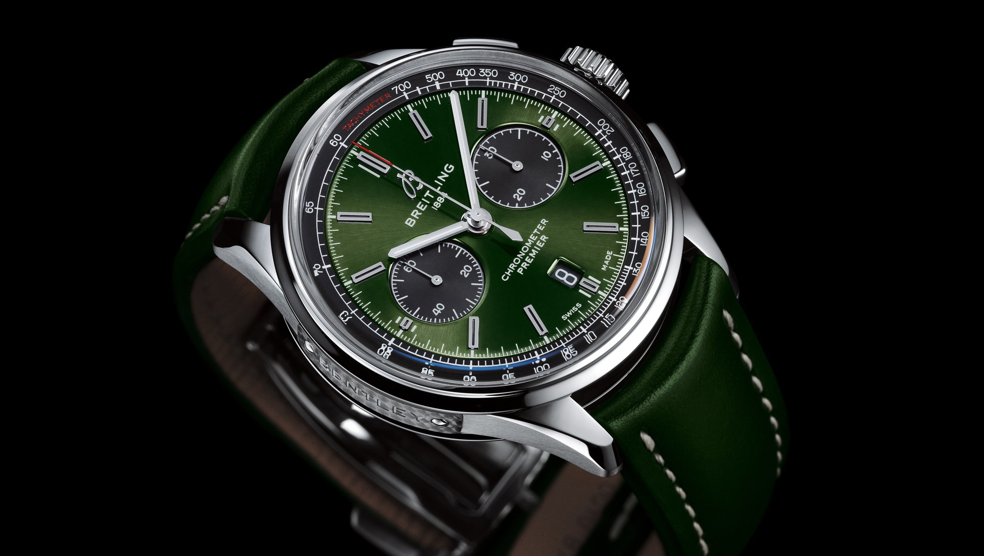 Risultati immagini per Breitling and Bentley renew their partnership with a new special edition chronograph foto