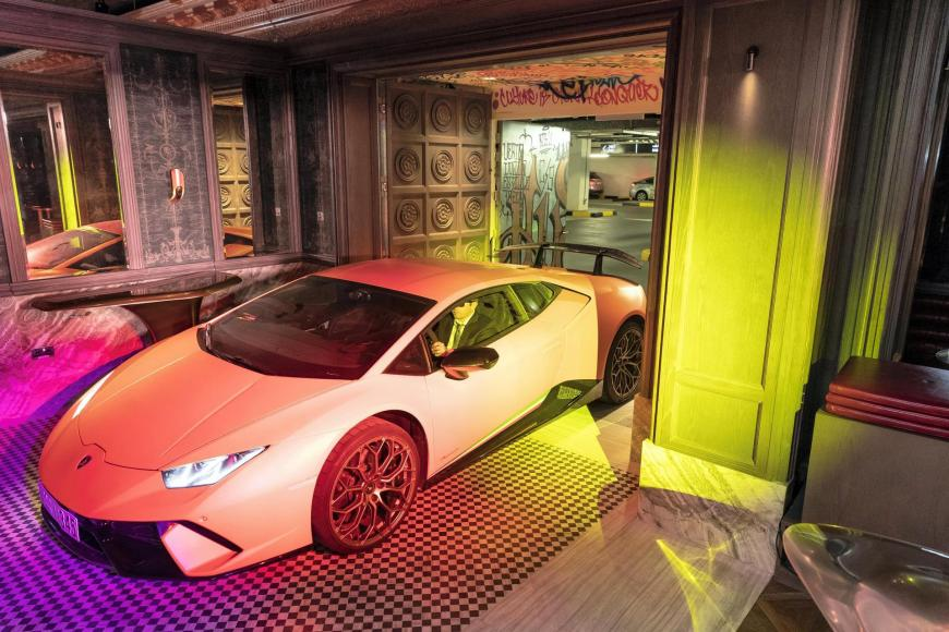 Only In Dubai A Secret Nightclub Where You Can Drive