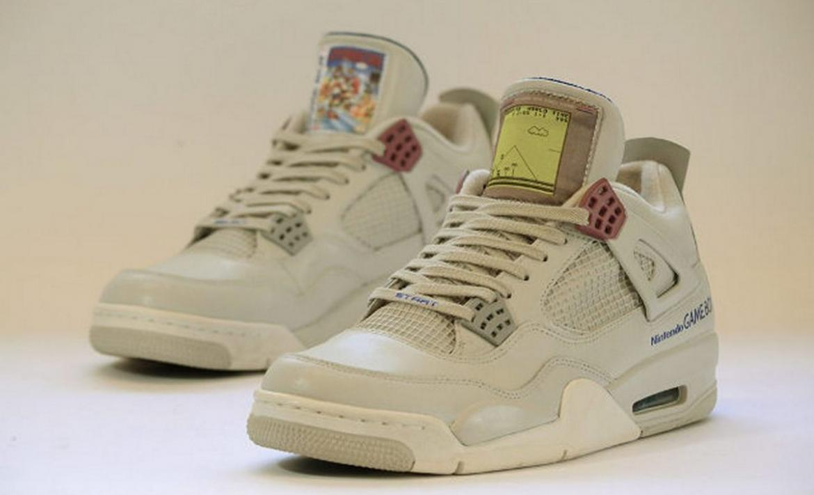 pretty nice bb5f7 3ebb5 These $1,350 Game boy themed Air Jordan sneakers scream retro. -
