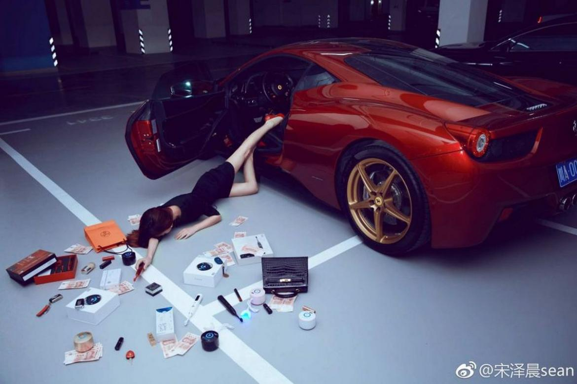 Rich Chinese Are Taking Part In The Flaunt Your Wealth