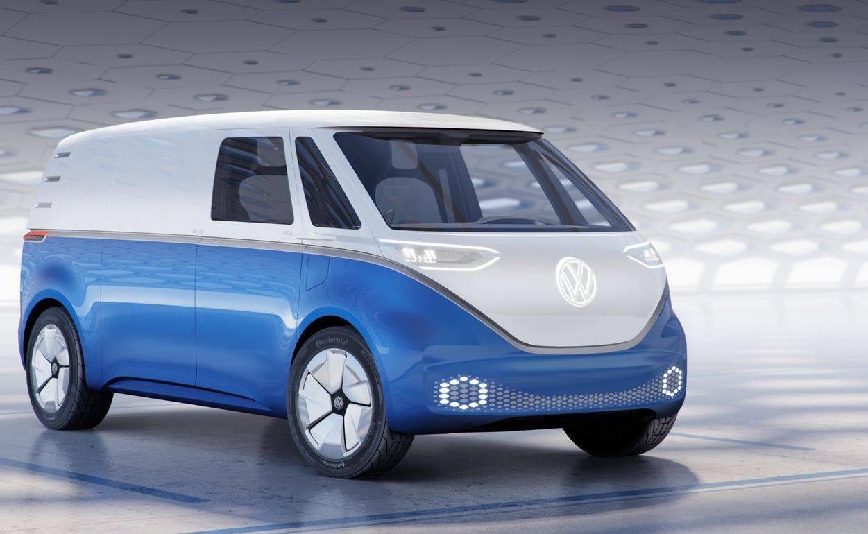 Volkswagen Is Bringing Back The Iconic Microbus In A New
