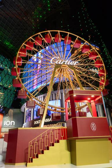 Cartier Ferris Wheel for ION Orchard Christmas Park (1)