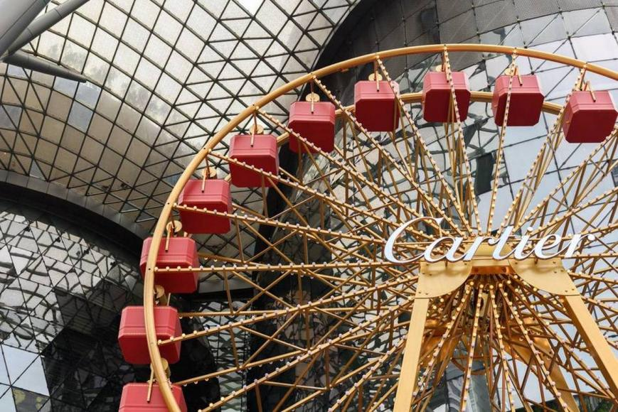 Cartier Ferris Wheel for ION Orchard Christmas Park (2)
