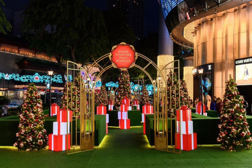 Cartier Ferris Wheel for ION Orchard Christmas Park (3)
