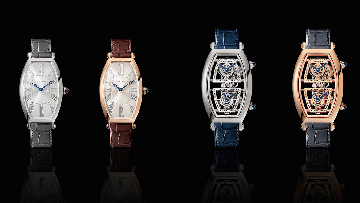 Risultati immagini per Cartier showcases Privé Tonneau Time-Only and Skeleton Dual Time watches ahead of SIHH 2019 debut foto