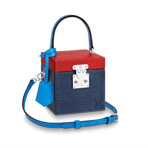 Louis-Vuitton-Bleeker-Box-Bag-Epi-Colorblocked