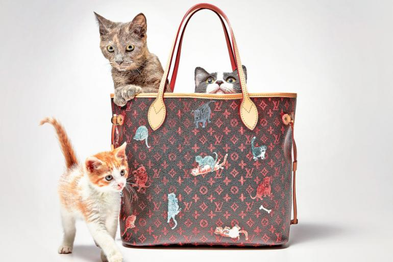 louis vuitton unveils the  u2018catogram u2019 collection that is wholly inspired by fabulous felines