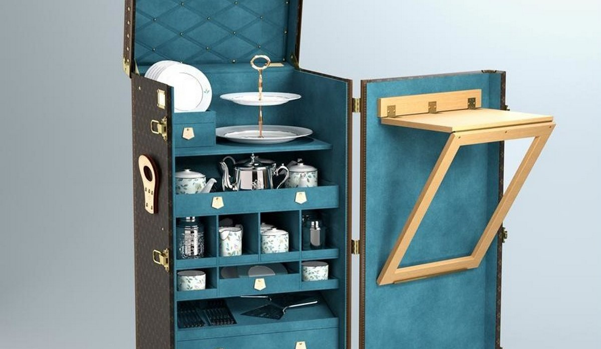This Louis Vuitton and Fortnum and Mason tea-trunk will bring warmth and winter cheer to your wish list! -