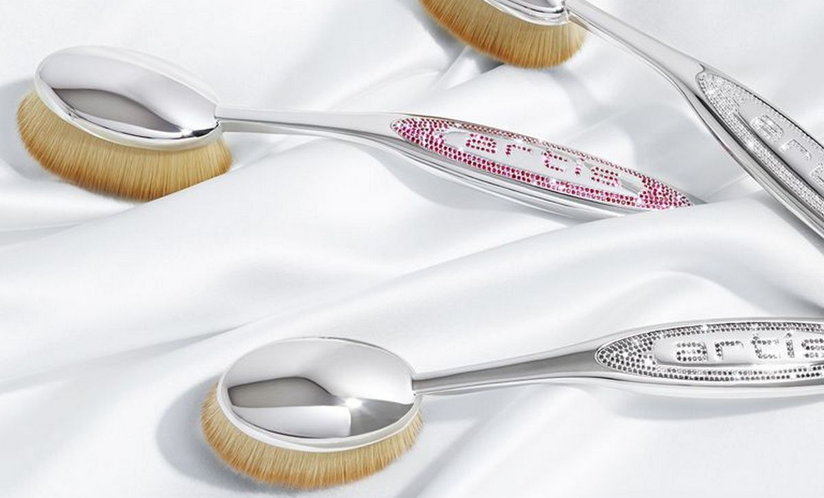 Costing $25,000 these are the world's most expensive make-up brushes -
