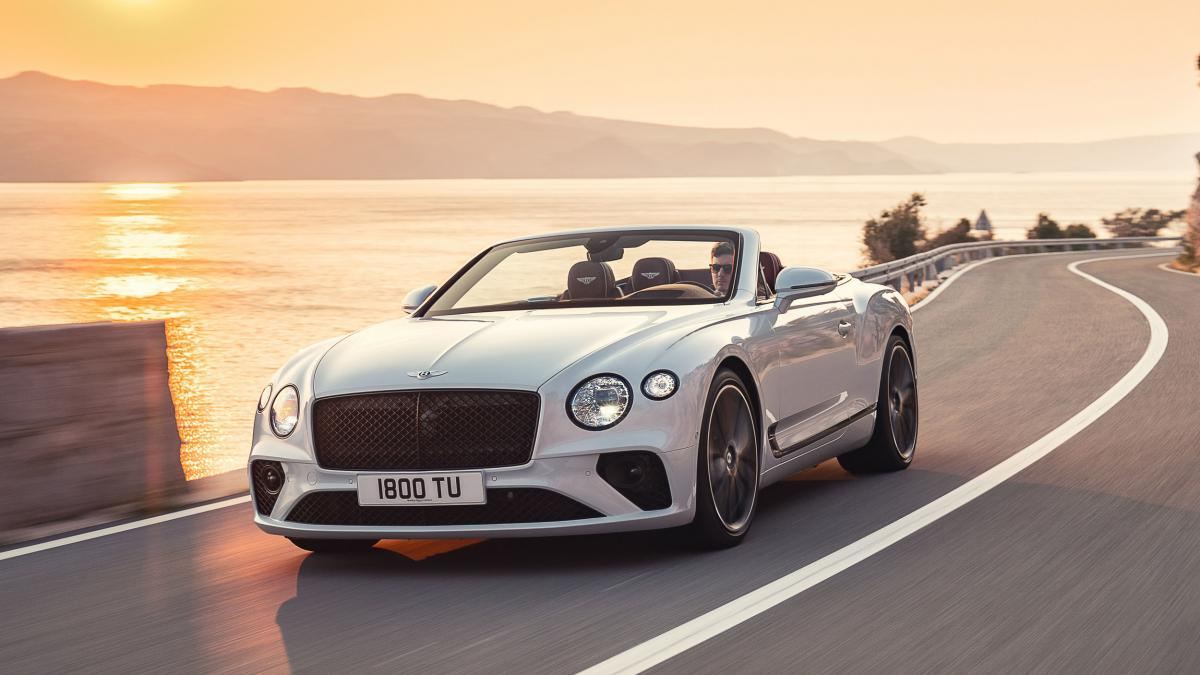 2019 Bentley Continental GT Convertible – A $225k ultra luxury drop top