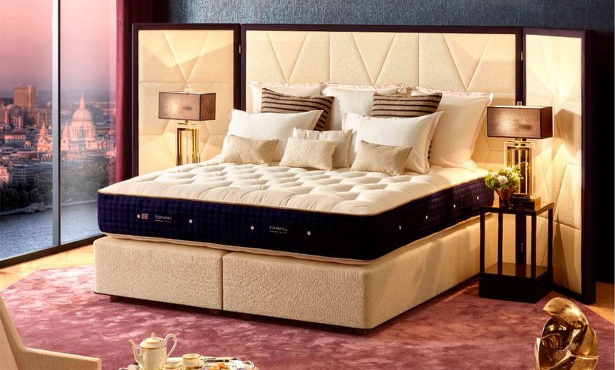 Costing a whopping $96,000 this is Britain's most expensive bed