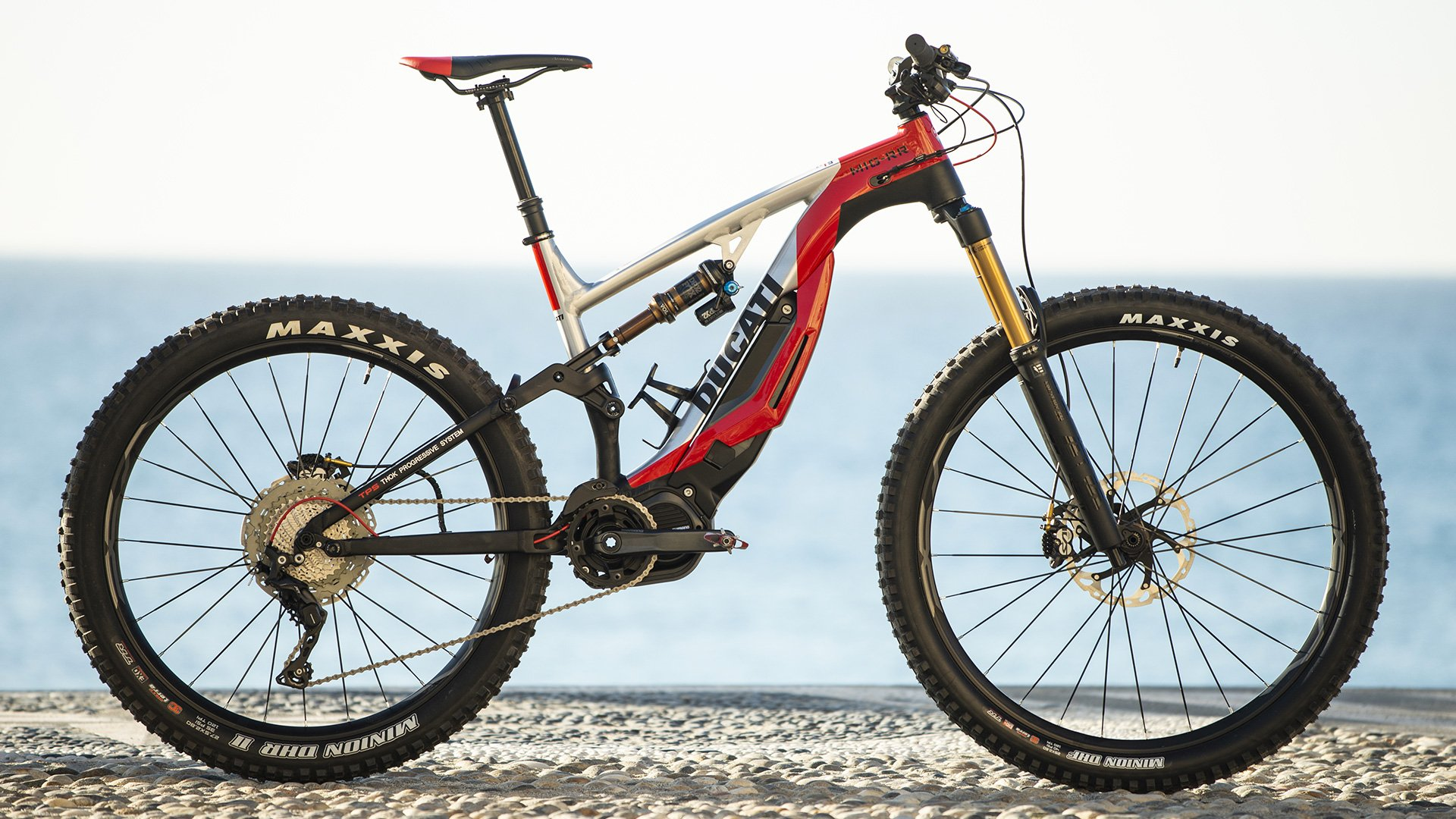 As stylish as its motorcycles - Check out Ducati's electric mountain bike -