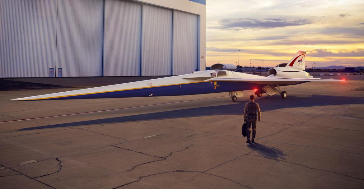 NASA X-59 Quiet Supersonic Transport