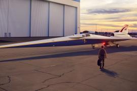 NASA X-59 Quiet Supersonic Transport