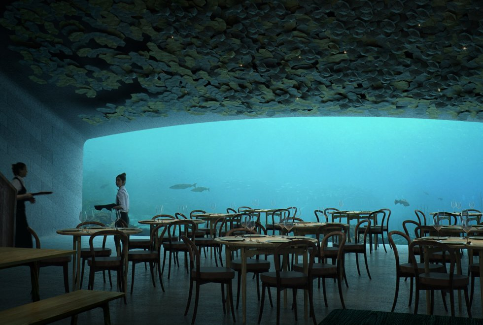 It is not the Maldives or Dubai but Norway that is getting the worlds largest underwater restaurant, and, here is your first look