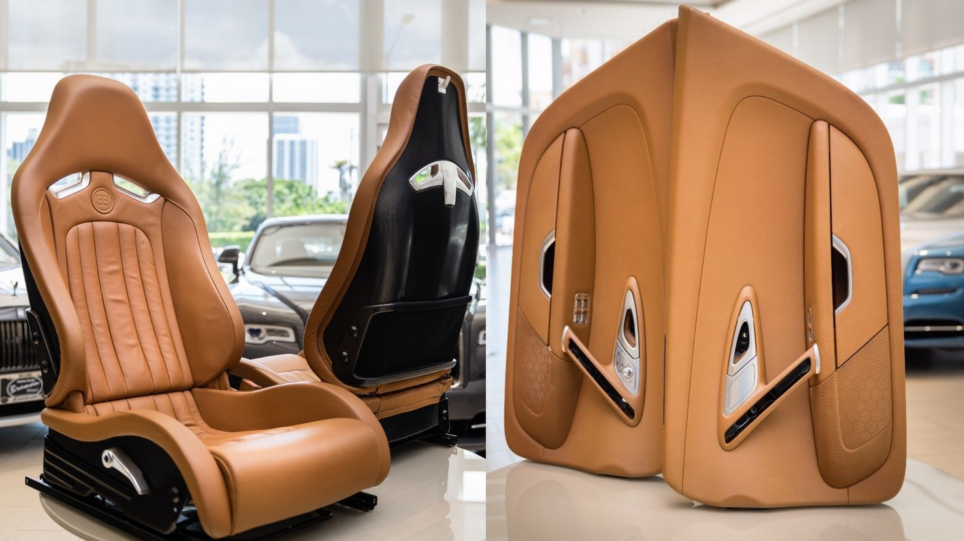 Just for $150,000 you can get the complete interiors of a 10-year-old Bugatti Veyron