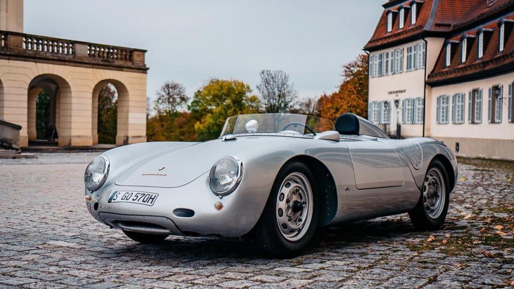 4 Porsche 550 A Spyder