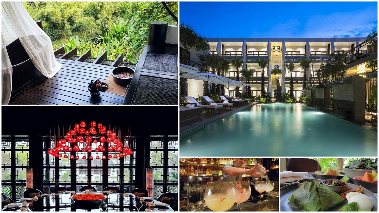 From the tranquility of Thailand to the high rises of Singapore - Here are Asia's best luxury hotels, spa's and nightspots from 2018 -
