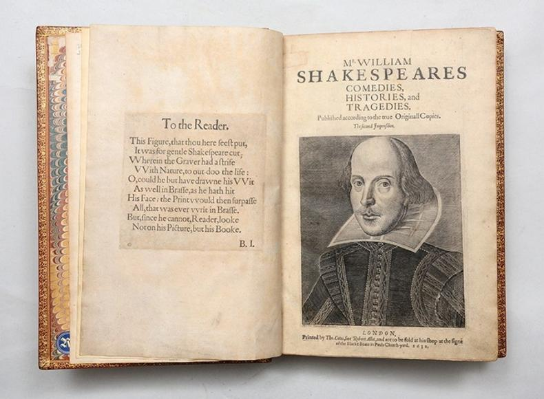 Comedies Histories and Tragedies Second Folio by Shakespeare (3)