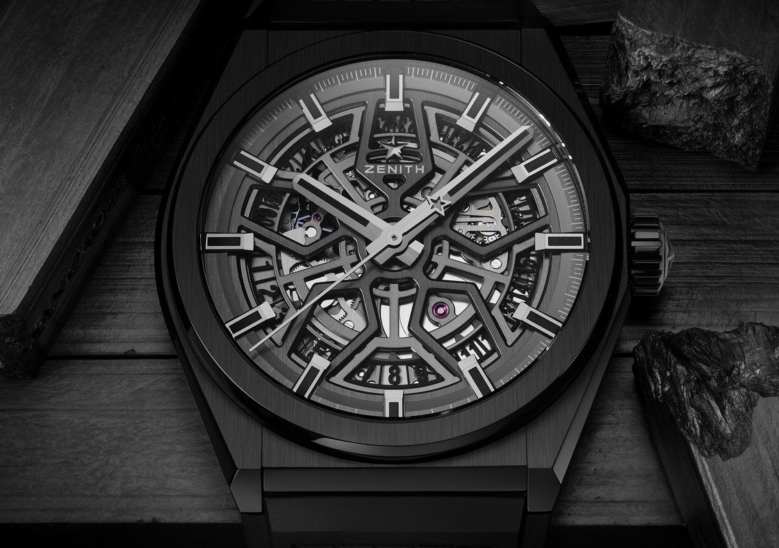 Zenith adds a new blacked-out timepiece with ceramic case to its Defy collection