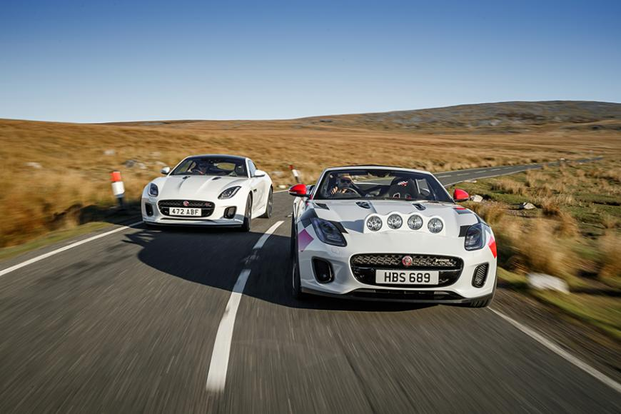 Jaguar-Ftype-ralley-car