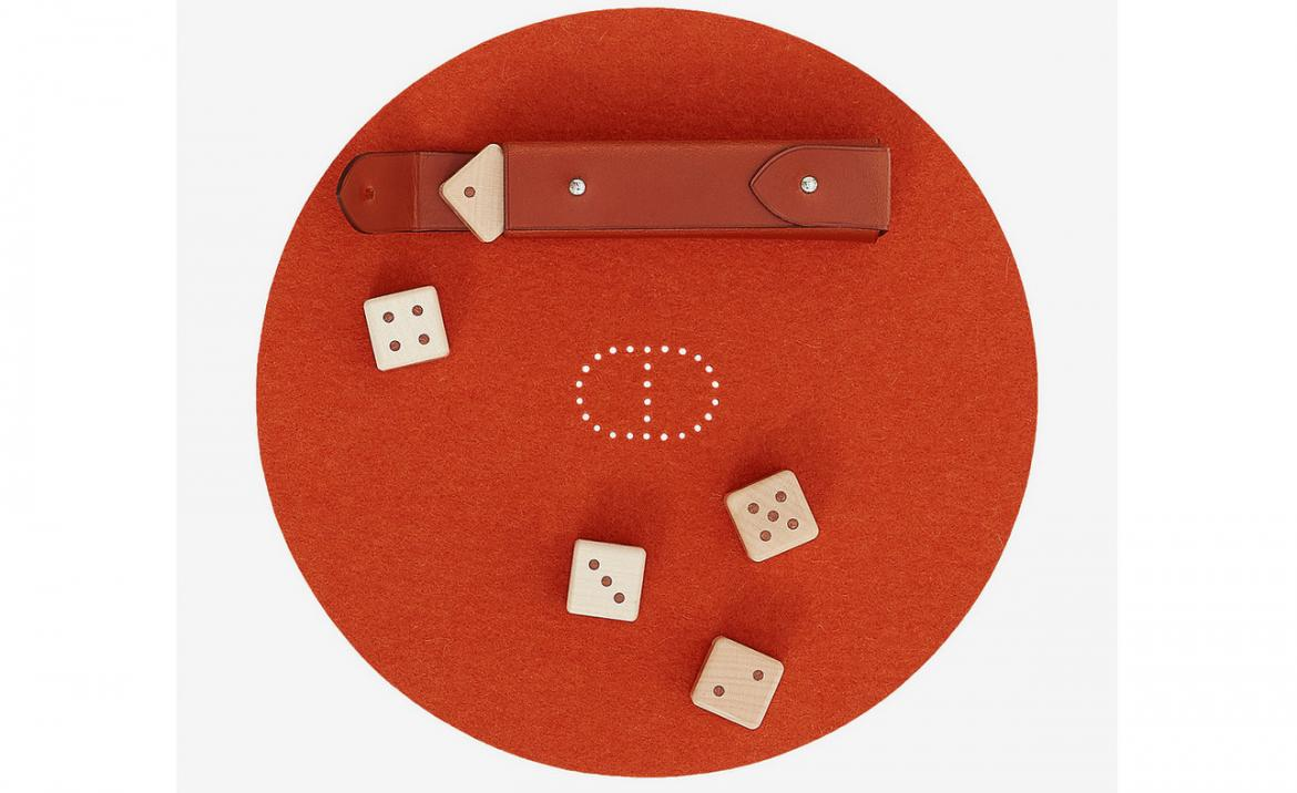 Check out the new Hermes offering: An all-exclusive luxury dice game -