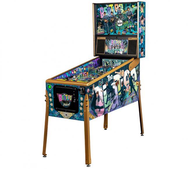 pinball machine Beatles (1)