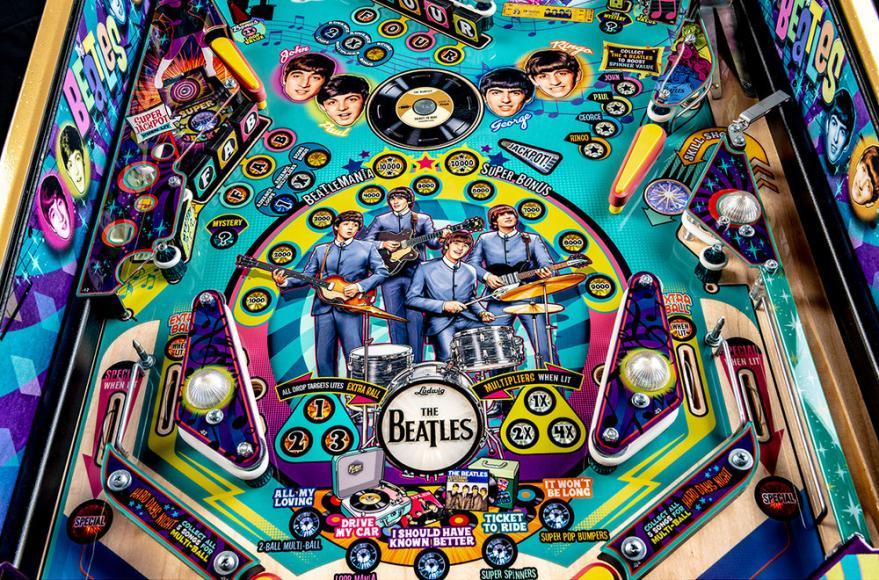 pinball machine Beatles (4)