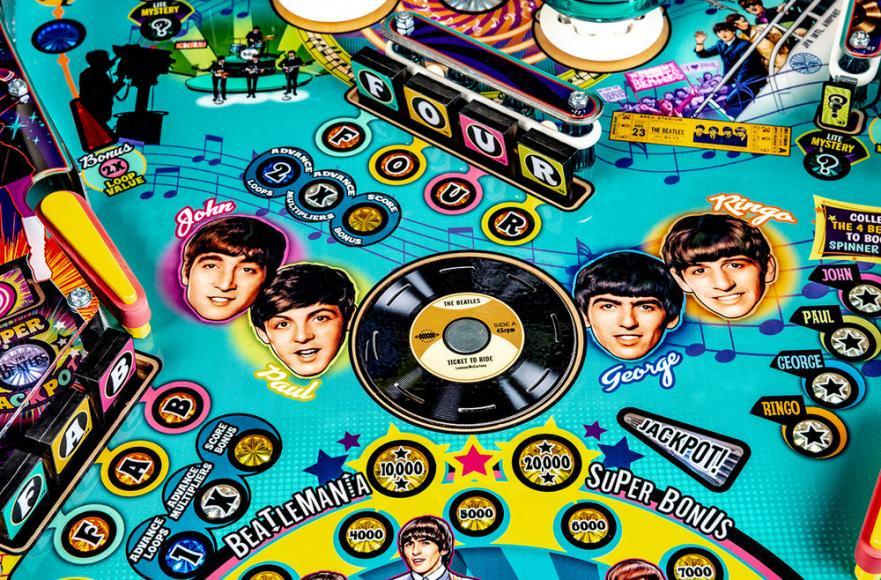 pinball machine Beatles (5)