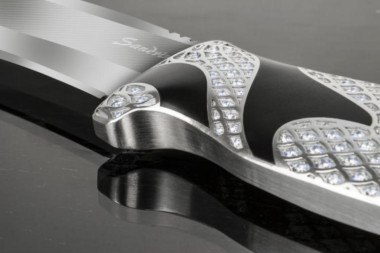This diamond encrusted knife costs more than a Porsche 911