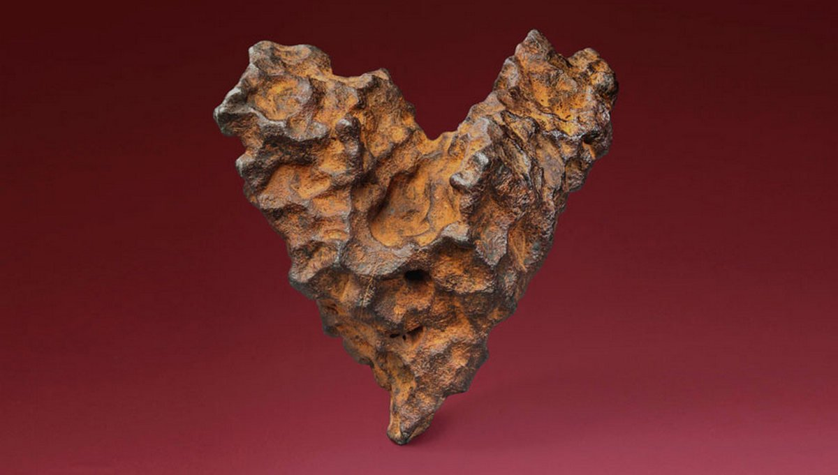 From Before Time This Heart Shaped 4 5 Billion Year Old
