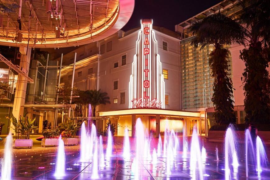 Capitol Theatre neon light signage