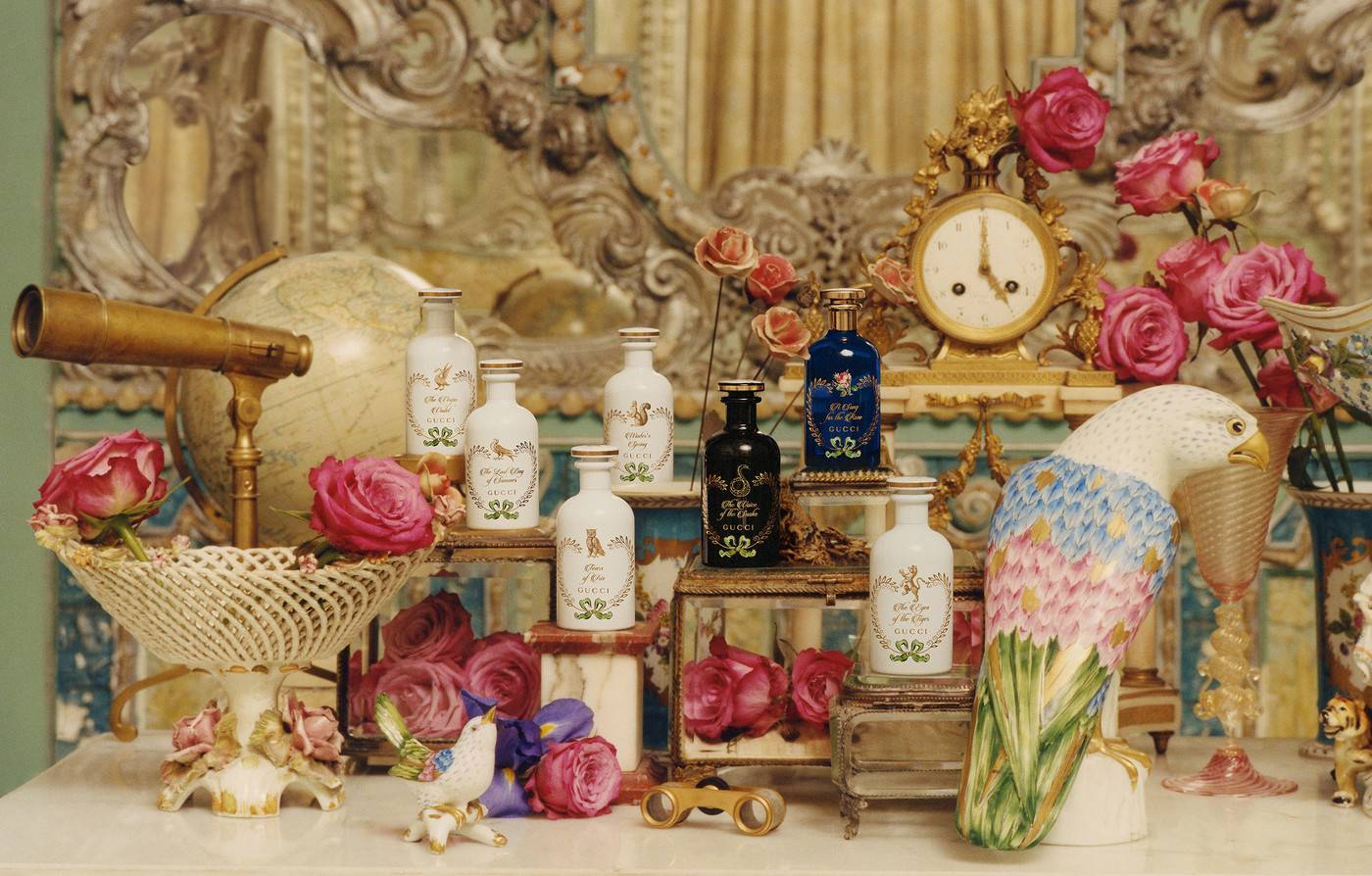 Gucci launches new fragrance line called the 'The Alchemist's Garden' -