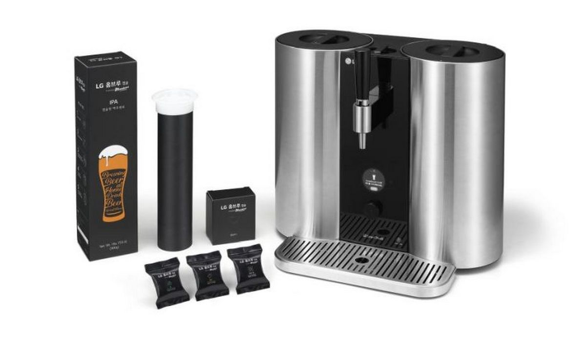 Beer lovers rejoice - LG is coming out with a capsule-based craft beer machine -