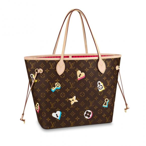 Louis-Vuitton-Love-Lock-Neverfull-MM