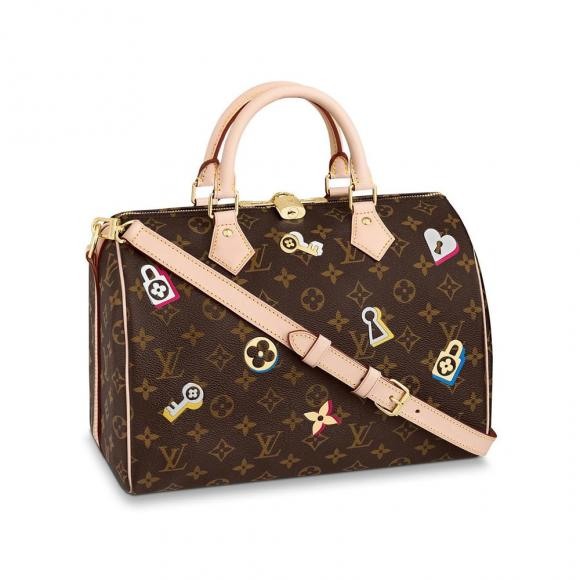 Louis-Vuitton-Love-LockSpeedy-Bandouliere-