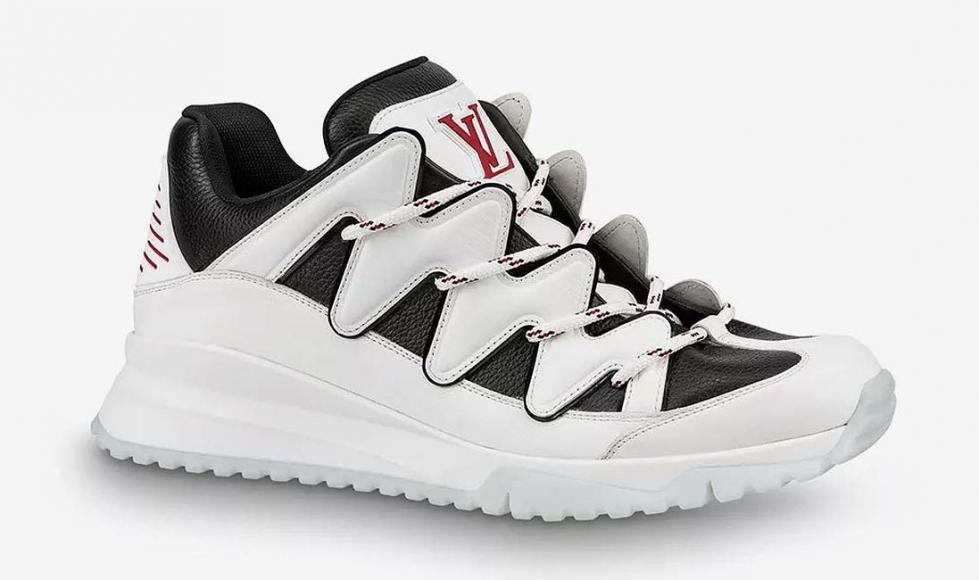 Risultati immagini per Louis Vuitton's $1,175 pair of Zig Zags appeals to the humble sneaker FOTO