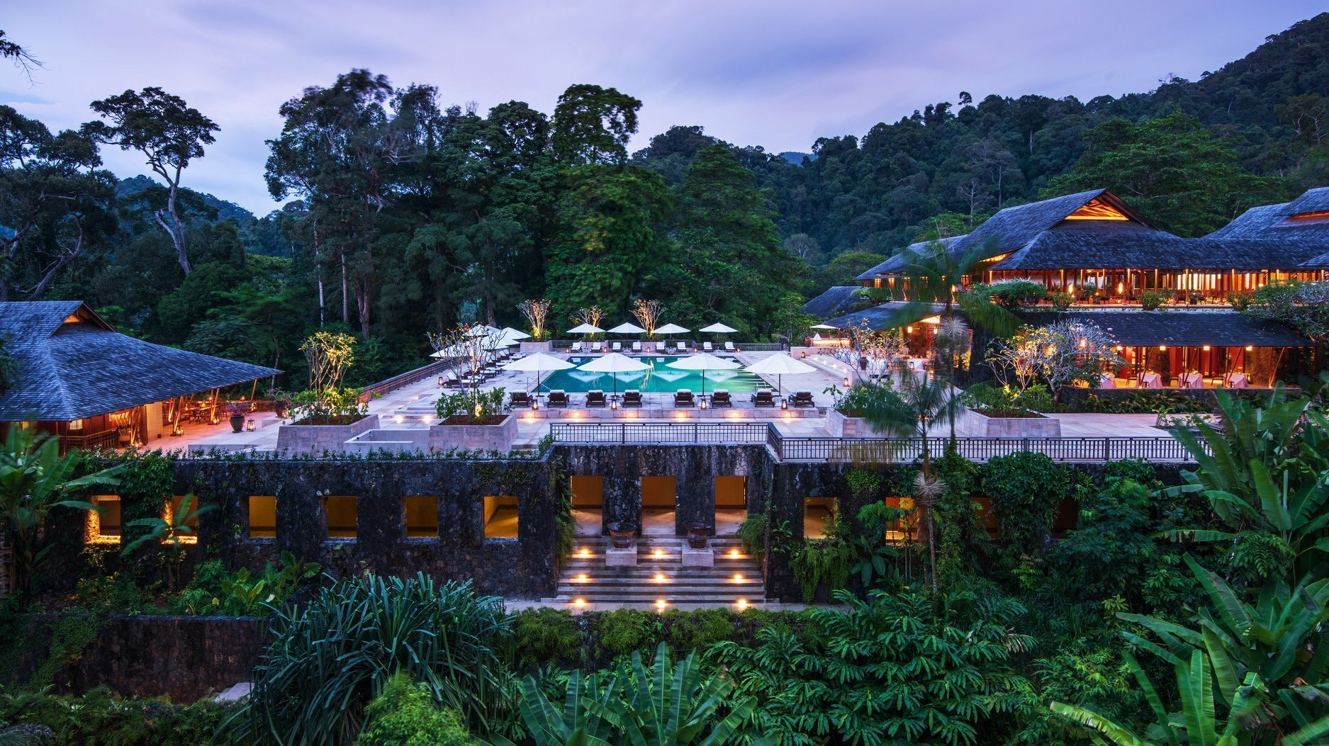 A Luxury Resort In Langkawi Where The Rain Forest Meets
