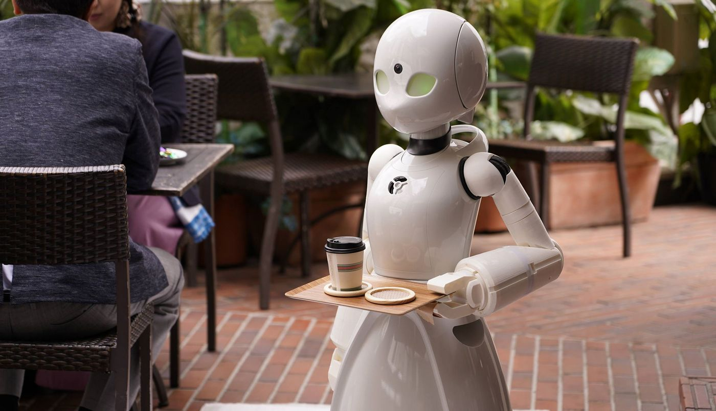 This Tokyo café is run by robot servers operated by paralyzed patients from home