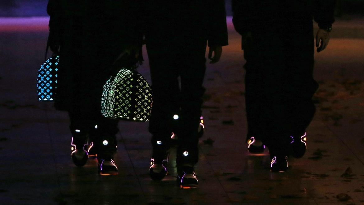 the internet has gone crazy over louis vuitton u0026 39 s new glow in the dark bag