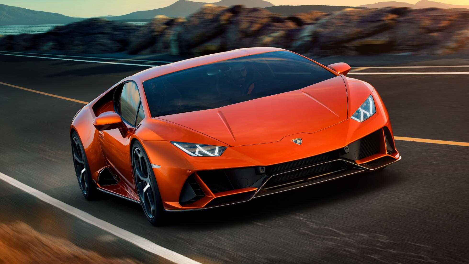 The 2020 Lamborghini Huracán EVO is faster, more aerodynamic and a whole lot smarter