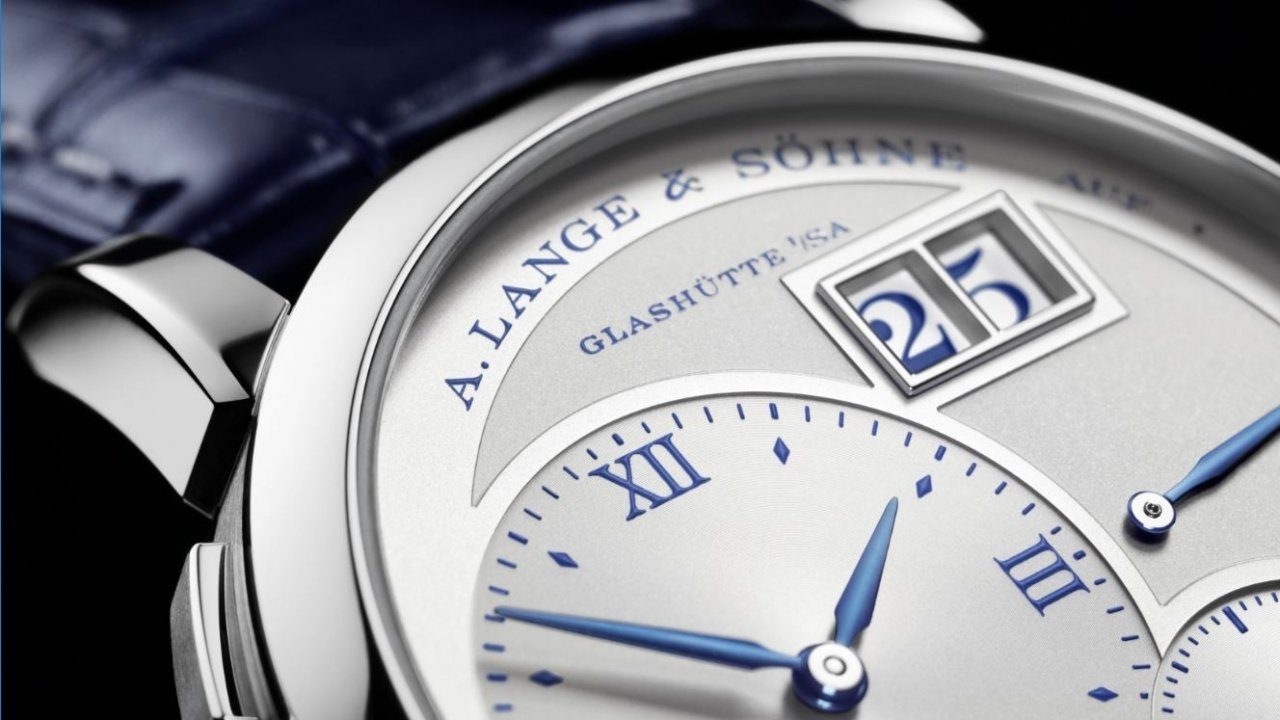 A. Lange & Söhne has a stunning time piece to mark 25 years of its iconic Lange 1 watch -