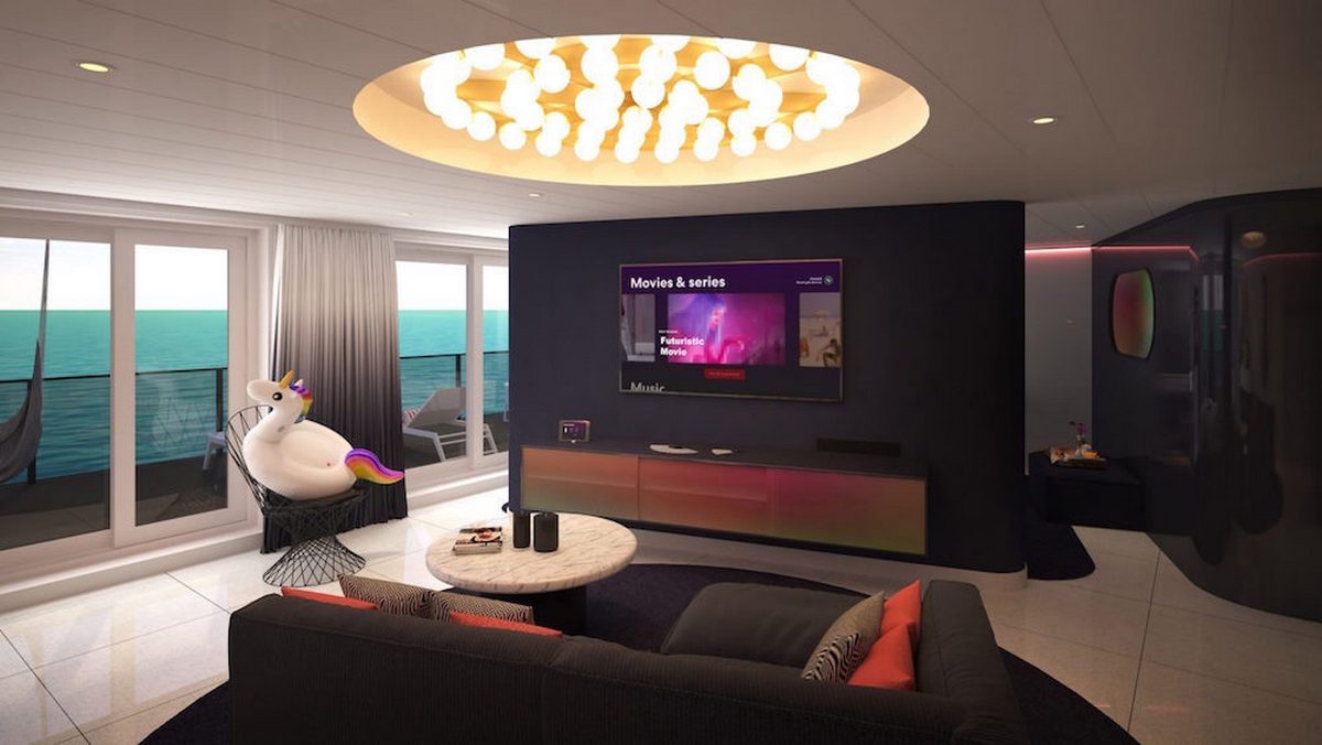 A sneak peek into the lavish suites designed by Tom Dixon for Virgin's first cruise ship -