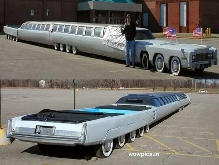 Welt längste innen von der limousine Stretch