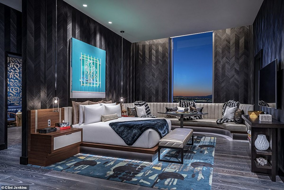 A basketball court and a bowling alley - Check out the crazy amenities these Las Vegas suites have. -