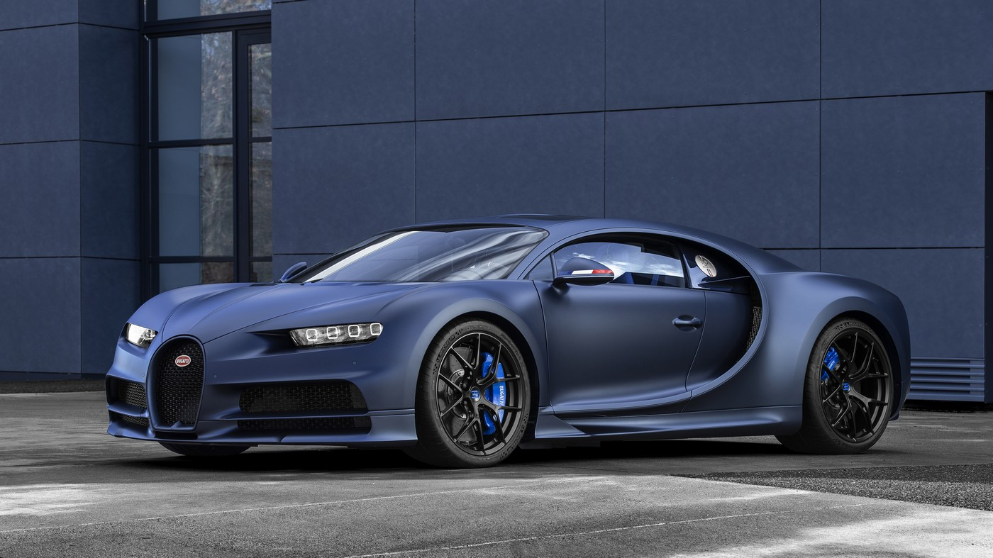 Bugatti celebrates its 110th anniversary with a limited edition version of Chiron Sport