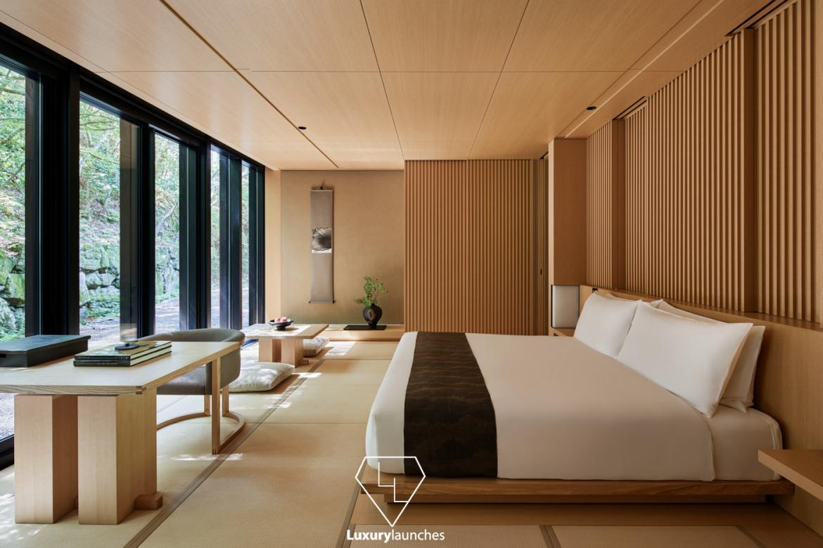 Aman is opening its third property in Japan - A gorgeous resort in Kyoto which is set to open in November -