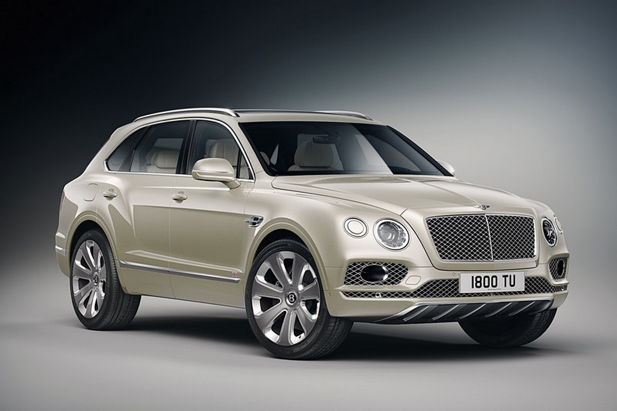 This limited edition Bentley Bentayga comes with an interior inspired by Japanese traditional parquet work